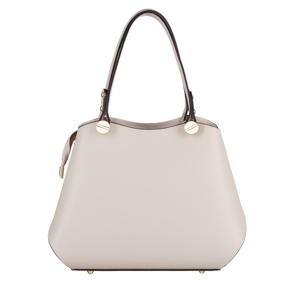 706f43b5ff883 Vera Pelle - Włoska elegancka torebka mały kuferek matowa skóra ...
