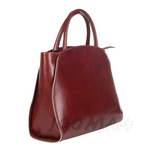 ELEGANCKA Włoska skórzana torebka VERA PELLE | Bags, Tote