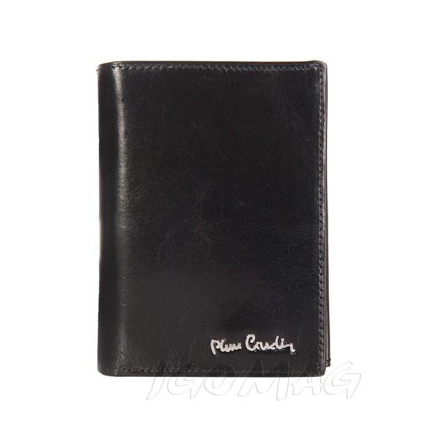 Pierre Cardin - Skórzany męski portfel czarny (330-520.1)