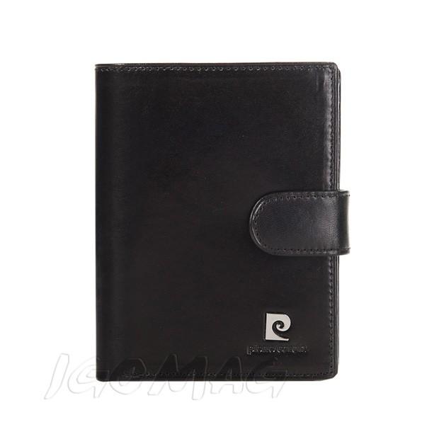 Pierre Cardin - Skórzany męski portfel czarny (331A-507.1)