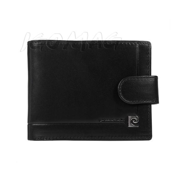 Pierre Cardin - Skórzany męski portfel czarny (324-507.7)
