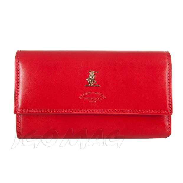 Harvey Miller - Duży skórzany portfel damski czerwony (3820-230)