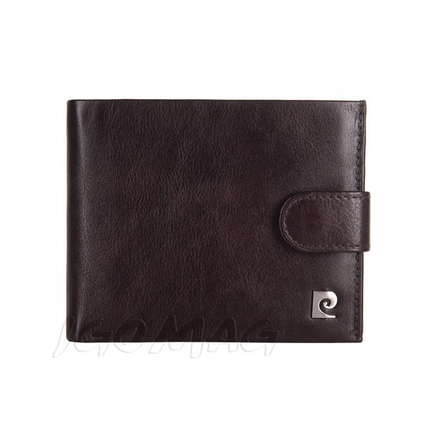 Pierre Cardin - Skórzany męski portfel brązowy (324A-TILAK03)