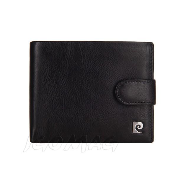 Pierre Cardin - Skórzany męski portfel czarny (324A-TILAK03)