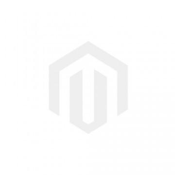 Włoska skórzana listonoszka z zamkiem czarna (5689)