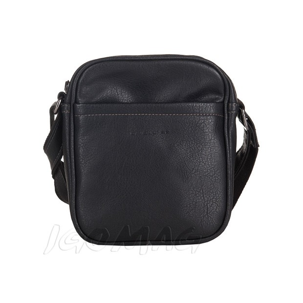 David Jones - Męska mała torba listonoszka na ramię czarna (T395)