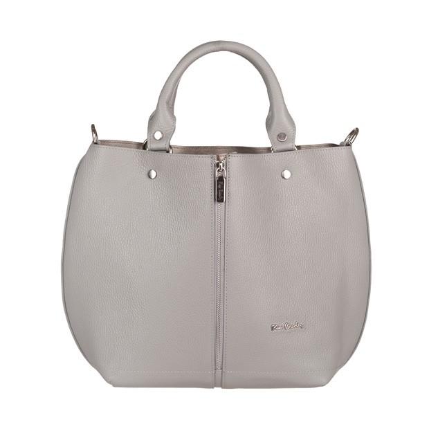 Pierre Cardin - skórzana torebka shopper bag czarna (TS-5374-09)