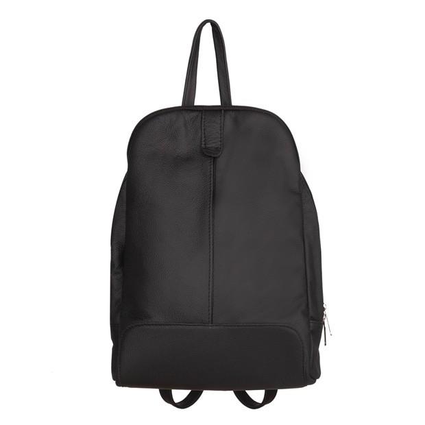 Skórzany plecak czarny (TS-5882-01)