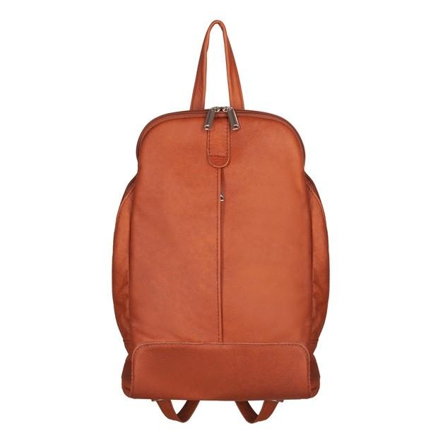 Skórzany plecak camel (TS-5882-05)