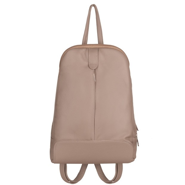 Skórzany plecak beżowy (TS-5882-08)