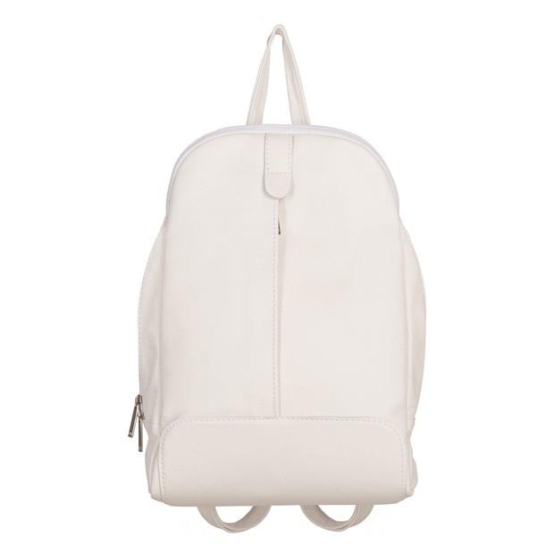 Skórzany plecak biały (TS-5882-27)