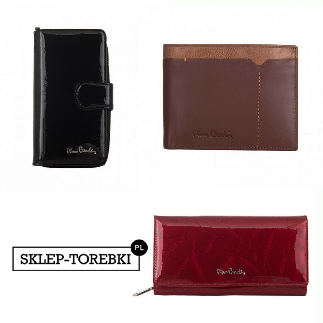 Eleganckie portfele skórzane
