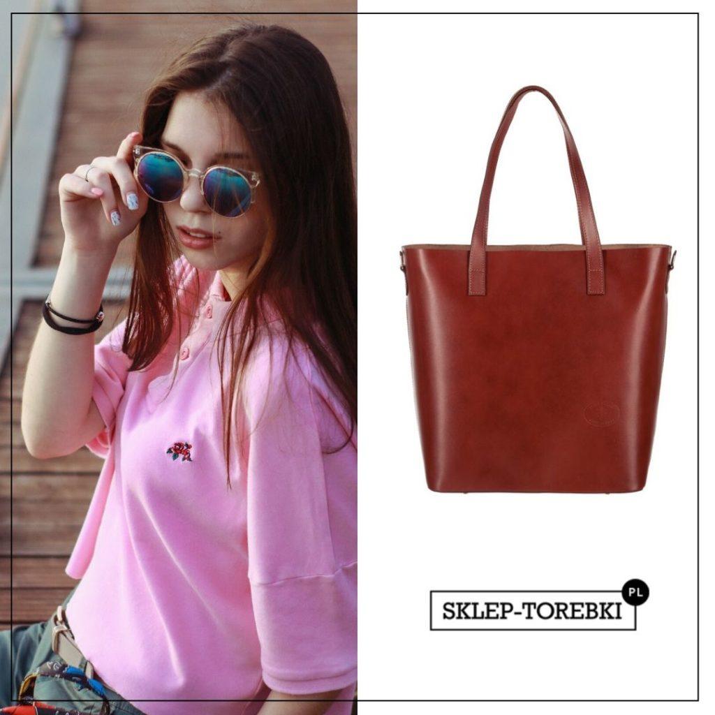 Shopper bag dla uczennicy