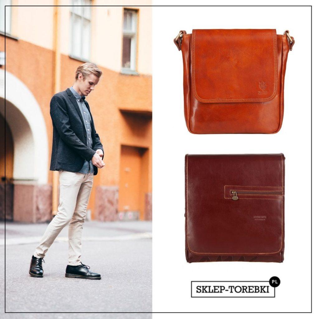 Męskie torby w stylu smart casual